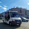 Сгоревший у омского ж/д вокзала микроавтобус оказался муниципальным