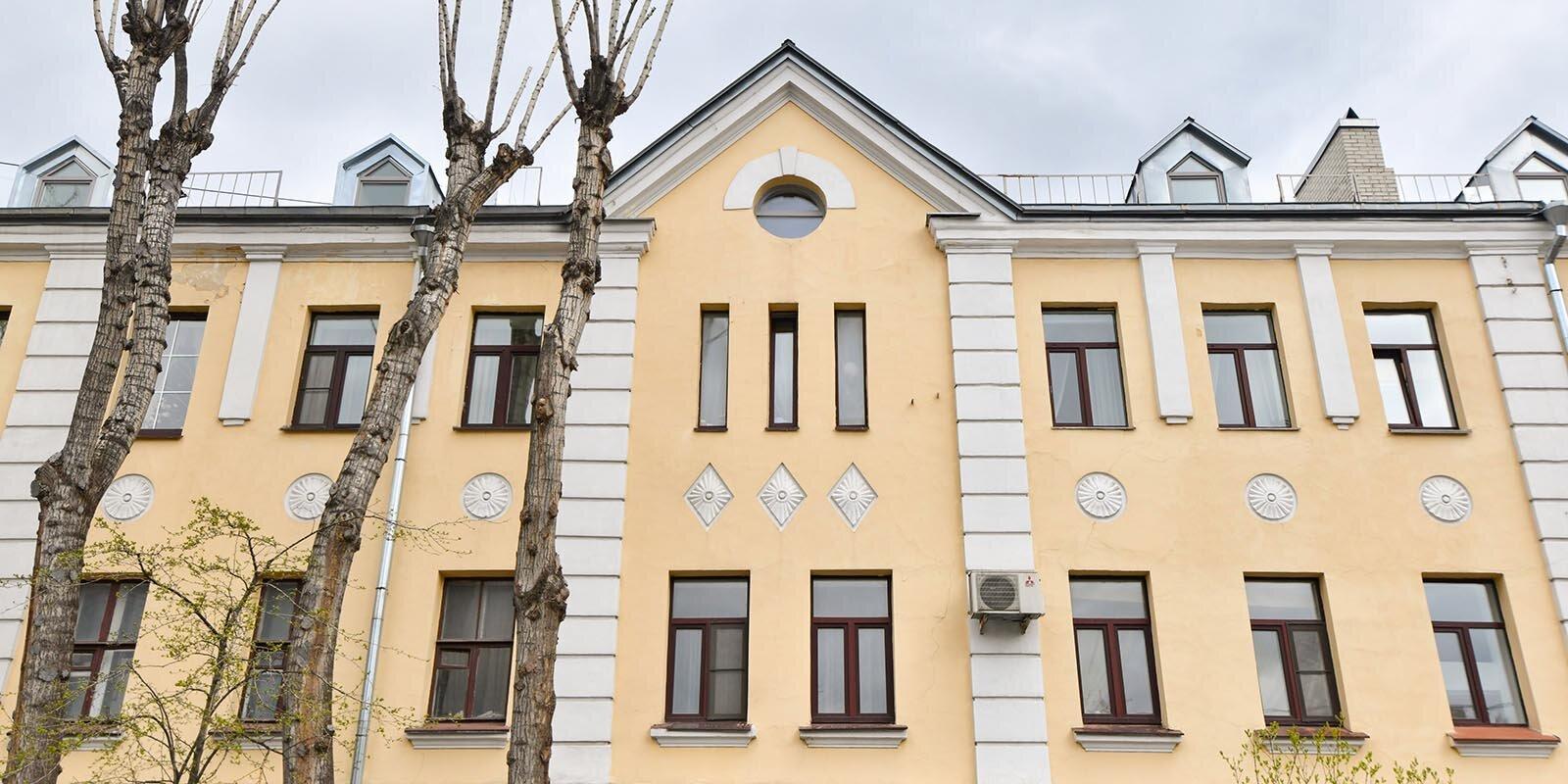 Фасад усадьбы XVIII века на Большой Ордынке отремонтируют