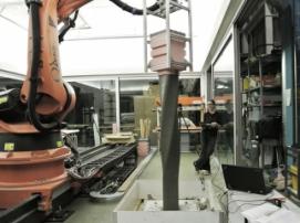 ETH Zurich использует 3D-принтеры и роботов для строительства трёхэтажного дома