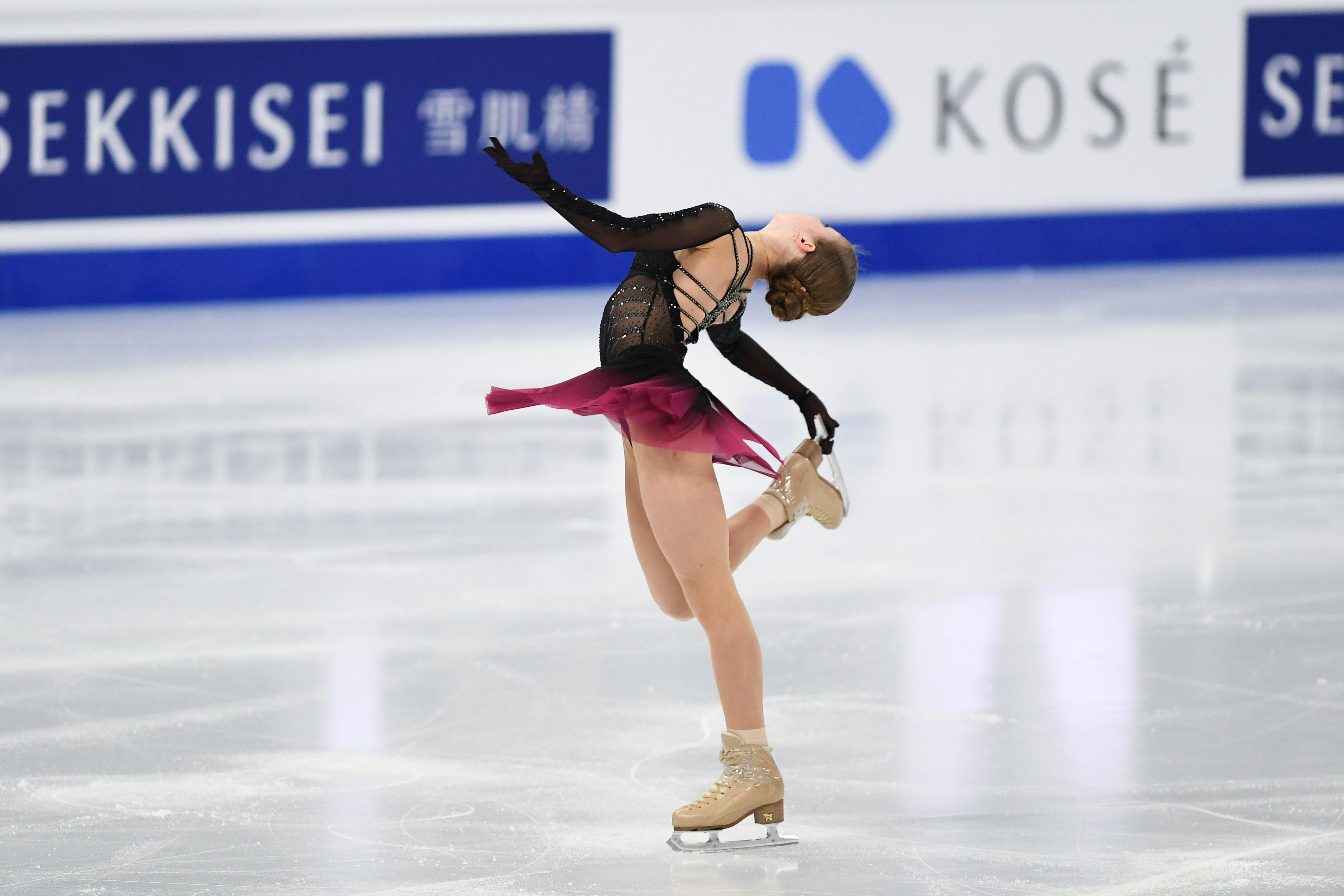 Трусова описала, как себя ведёт Плющенко-тренер