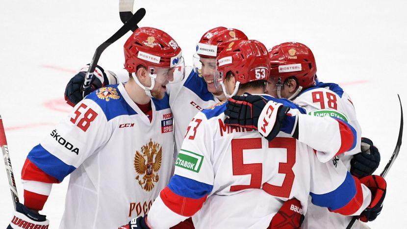 Стали известны сочетания звеньев сборной России перед стартовым матчем с Чехией на ЧМ