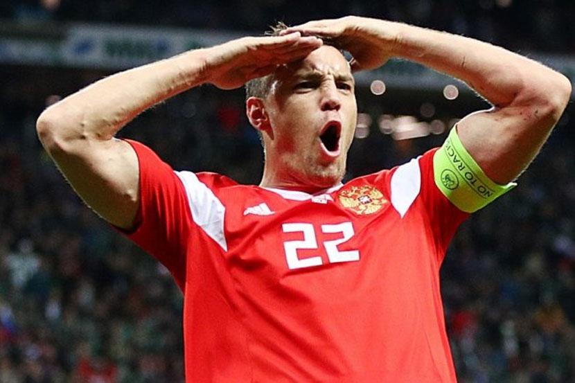 Дзюба — о Евро-2020: 'Хотелось бы забить, как и любому игроку, но на первом месте команда'