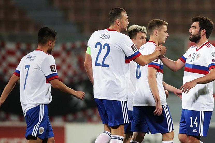 Сборная России выбрала форму на матч чемпионата Европы с Бельгией. ФОТО
