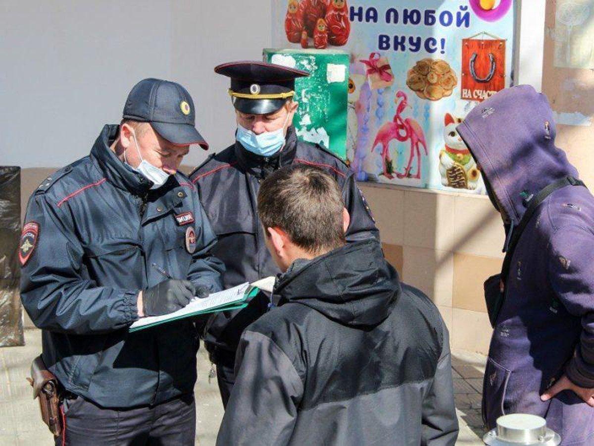 В Москве снова штрафуют за нарушение масочного режима