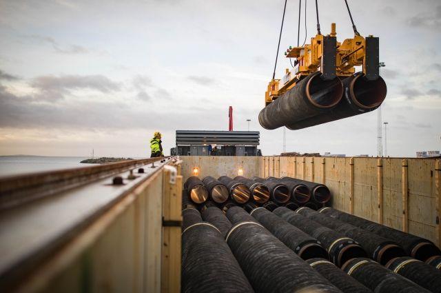 СМИ: строительство «Северного потока – 2» продолжат в декабре