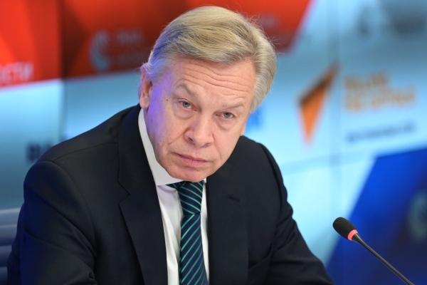 Пушков прокомментировал слова главы МИД Великобритании о России