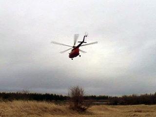 Вертолет завалился на бок после жесткой посадки в Магаданской области