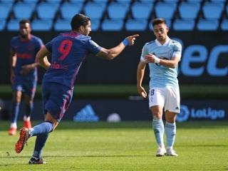 Гол Суареса принес 'Атлетико' победу над 'Сельтой'