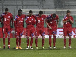 'Бавария' покинула Кубок Германии, проиграв клубу второй Бундеслиги