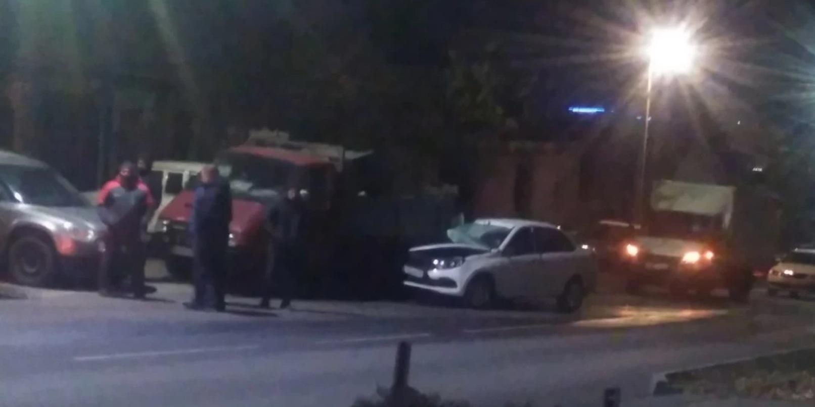 Пьяный начальник отдела курского угрозыска устроил ДТП и напал на инспектора ДПС