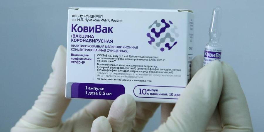 В рамках просветительской кампании российского общества 'Знание' министр здравоохранения рассказал о вакцине 'КовиВак'