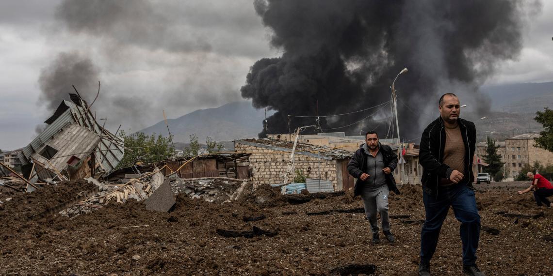 'Коммерсант': обострение конфликта вокруг Нагорного Карабаха могла спланировать Турция