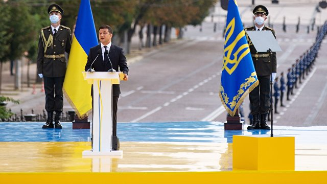 Українська правда (Украина): Зеленский заявил, что Украина вернет Крым