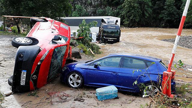 Forskning (Норвегия): почему наводнения в Европе стали такими смертоносными?