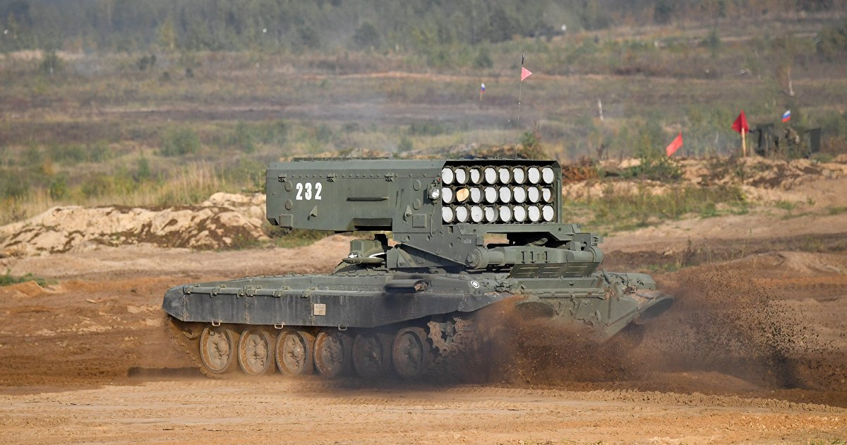 The National Interest (США): российский огнемет XXI века способен уничтожать американские танки (The National Interest)