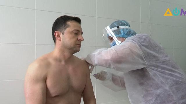 Корреспондент (Украина): появилось видео вакцинации Зеленского