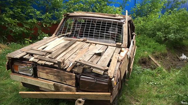 Факти (Болгария): поездка на деревянных «Жигулях» обошлась водителю в три штрафа