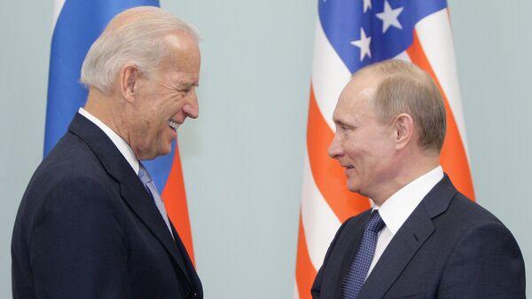 Politico: в США назвали возможные места встречи Путина и Байдена