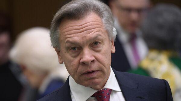 Пушков резко ответил на слова Блинкена о встрече Байдена и Путина