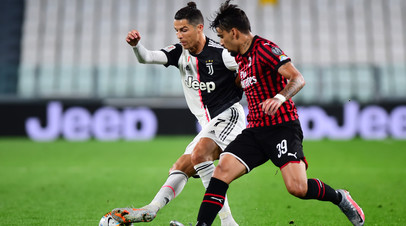 «Ювентус» сыграл вничью с «Миланом» и вышел в финал Кубка Италии