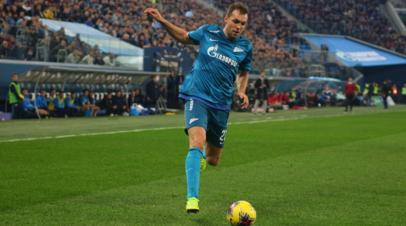 Дзюба забил первый мяч в матчах за Суперкубок России по футболу