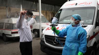 Число случаев коронавируса в Иране превысило 530 тысяч