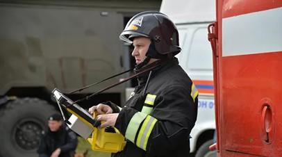 В Астрахани произошёл пожар в многоквартирном доме