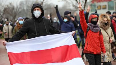 «Предупреждались о недопустимости противоправных действий»: на акции протеста в Минске задержали более 200 человек