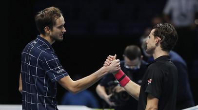 Чесноков считает, что Медведев и Тим сыграли на пределе возможностей в финале Итогового турнира ATP