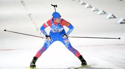 Биатлонистка Казакевич извинилась за своё неудачное выступление в спринте в Оберхофе
