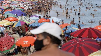 Общее число случаев коронавируса в Бразилии достигло 10 195 160