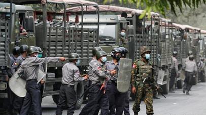 США ввели санкции против двух военных Мьянмы