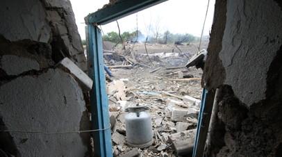 «Я лишилась всего»: Тамара Новосёла из Донбасса после обстрелов ВСУ осталась без дома и средств к существованию