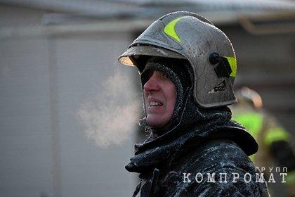 В Томске загорелся Театр юного зрителя