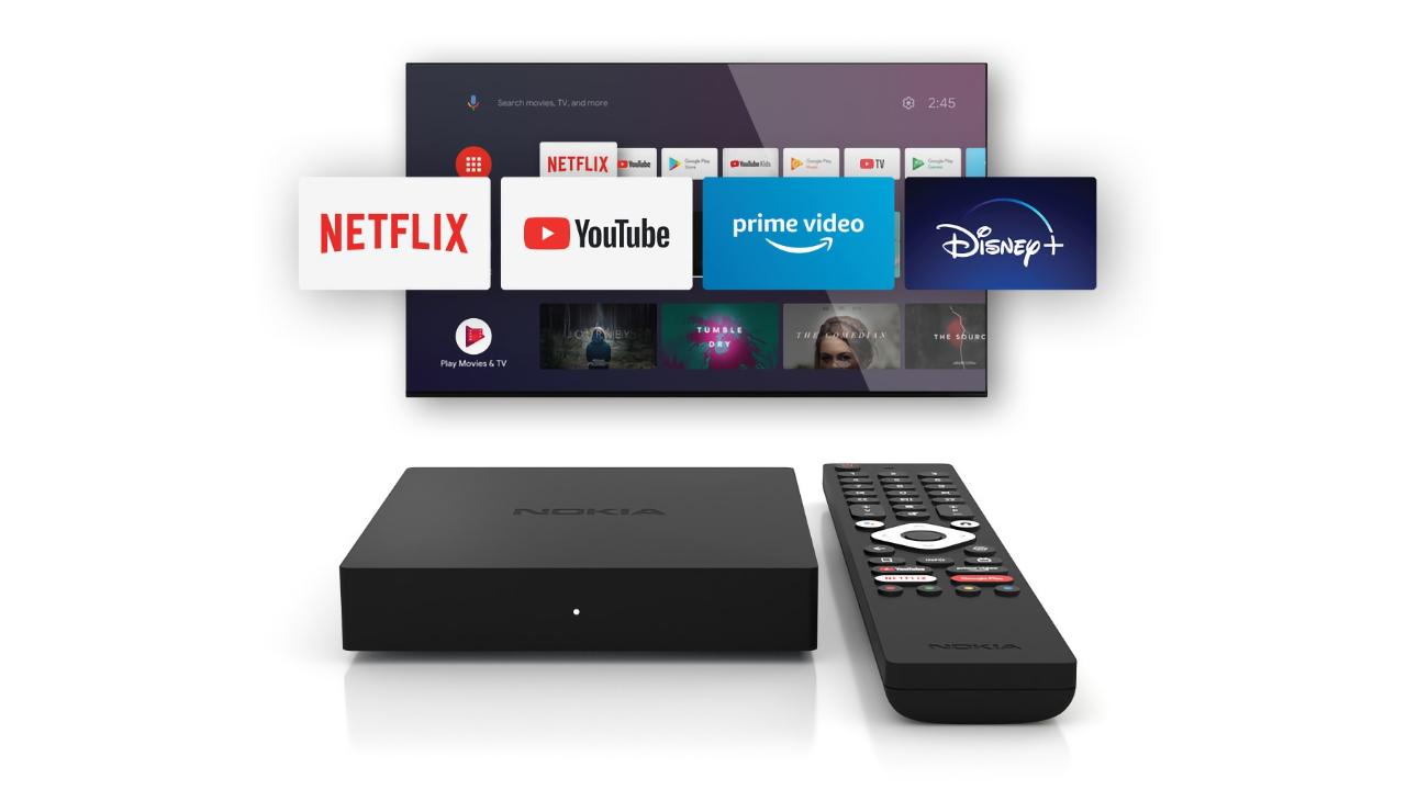 Nokia Streaming Box 8000: ТВ-приставка с поддержкой 4K, чипом Amlogic S905X и Android TV за 2199 грн