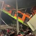 15 человек погибли при обрушении метромоста в Мехико