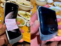 Опубликованы живые фото раскладушки Motorola Razr 2