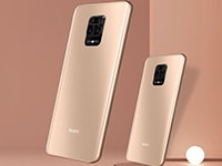 Redmi Note 9 Pro и Redmi Note 9 Pro Max получили новый вариант цвета Champagne Gold