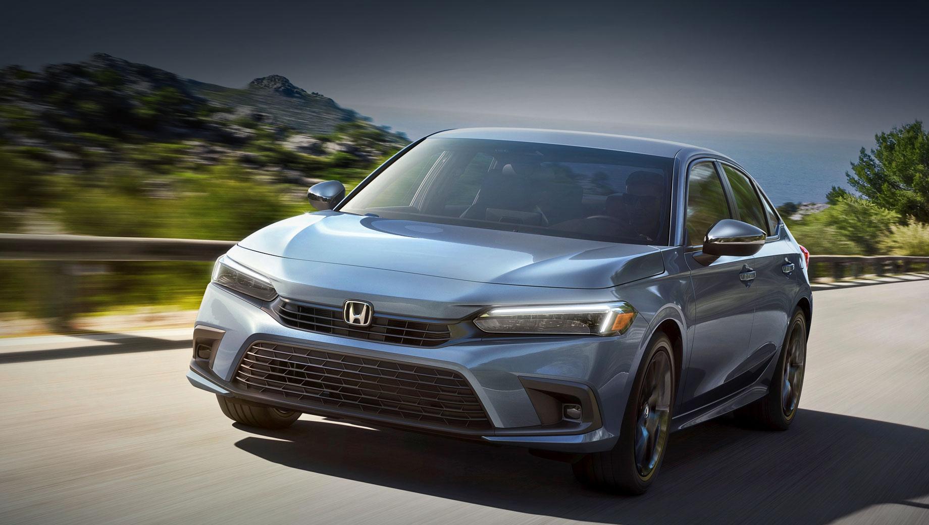 Седан Honda Civic сменил поколение в Северной Америке