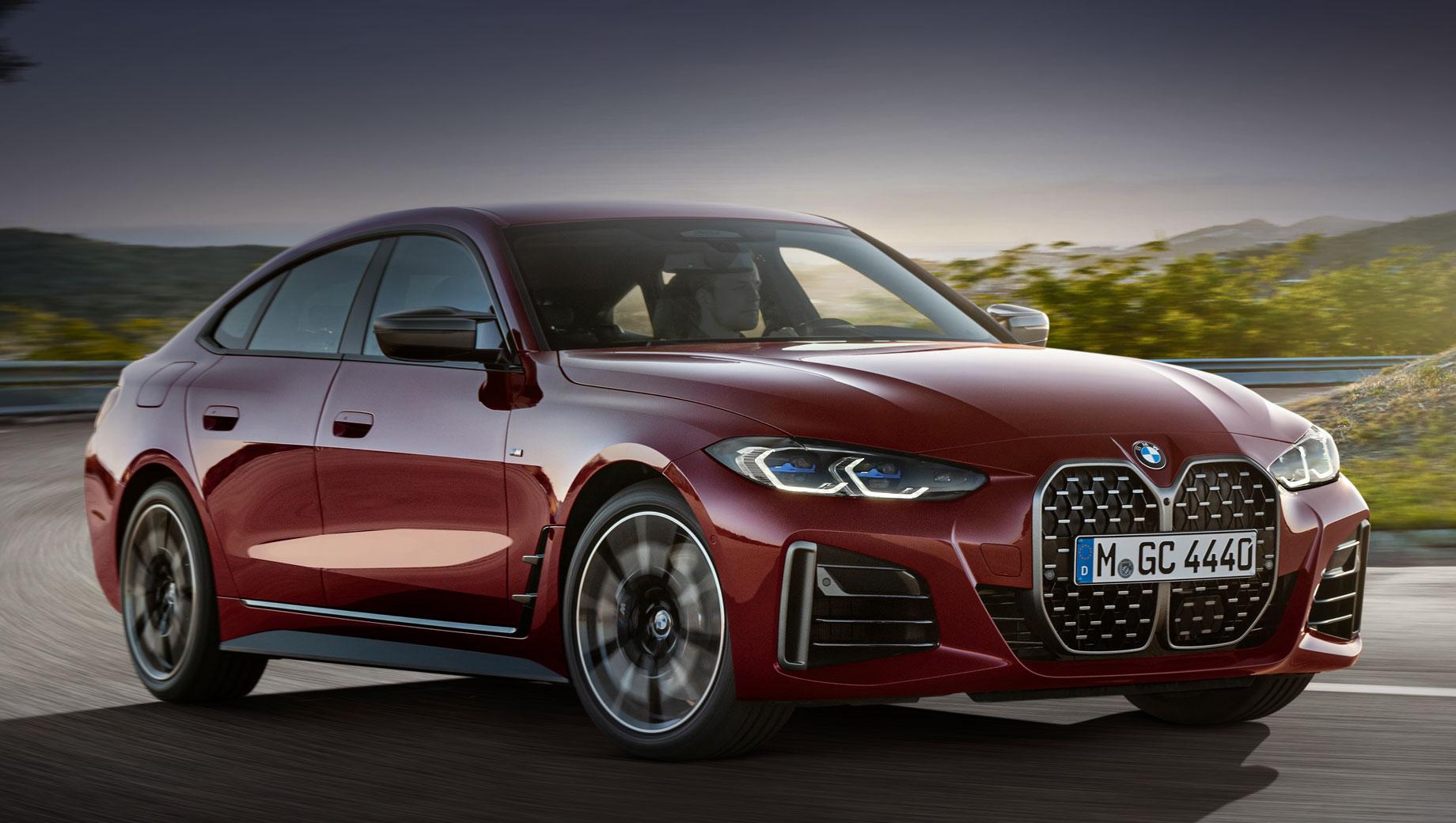 «Четвёрка» BMW Gran Coupe дебютировала с рублёвым ценником