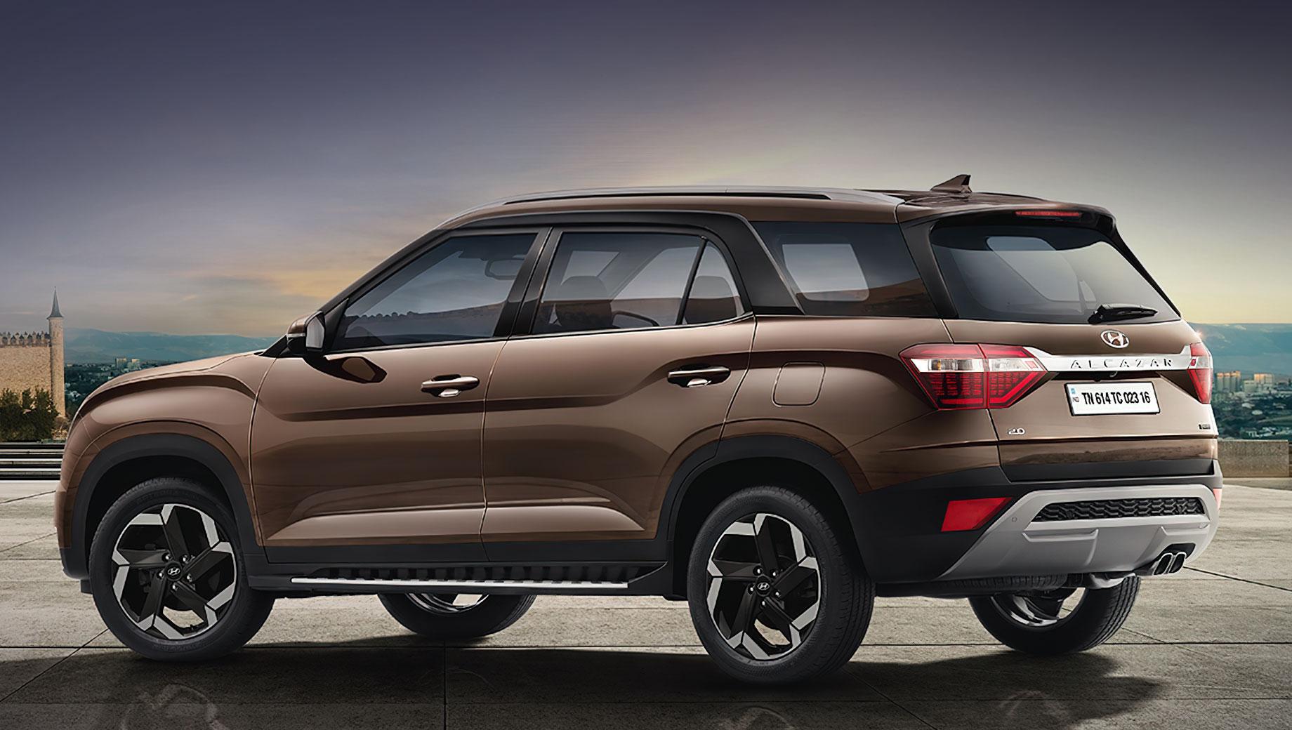 Дополнено: Hyundai Alcazar повторил Крету не во всём