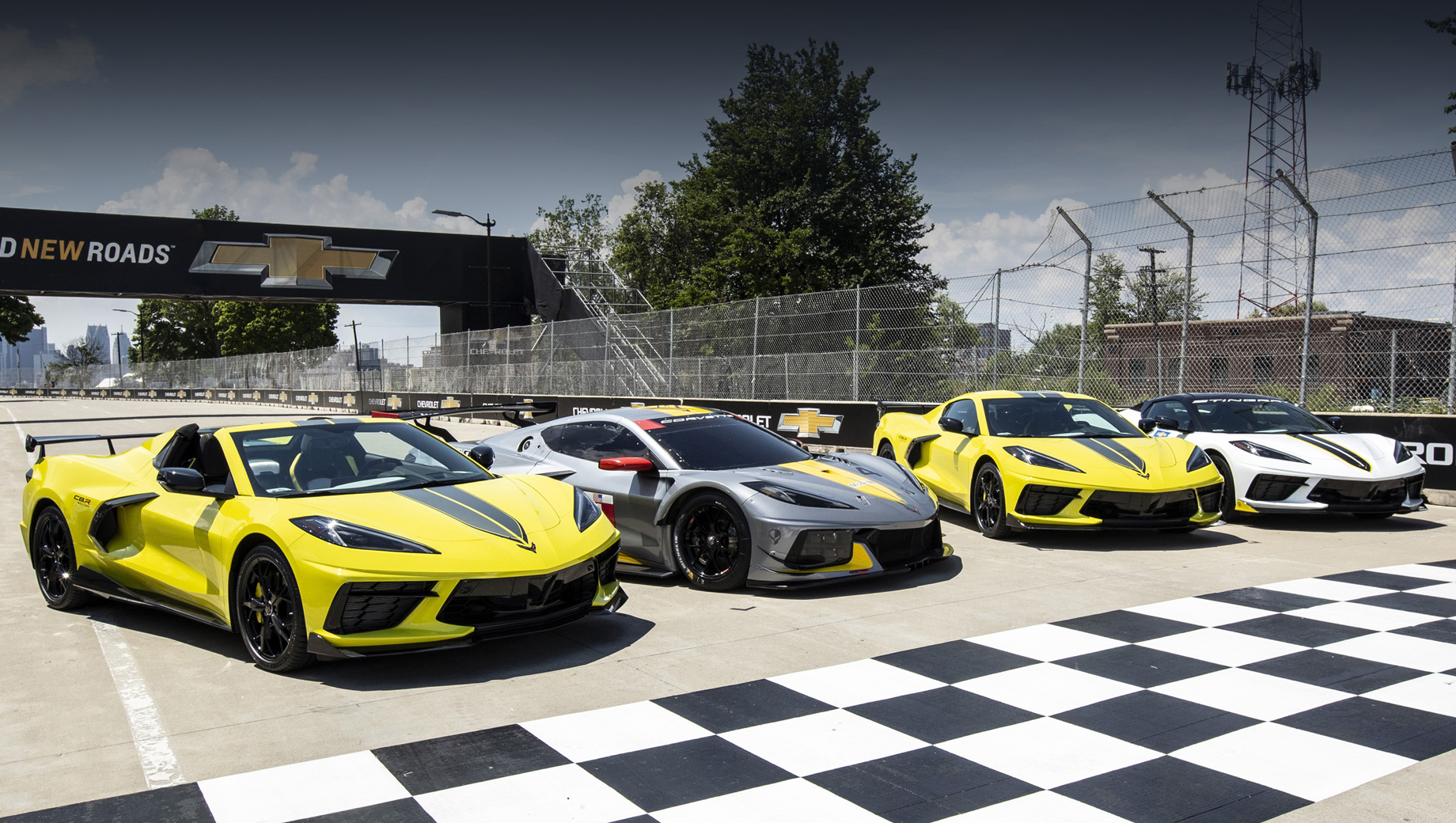 Издание Chevrolet Corvette IMSA GTLM приглянется фанатам гонок