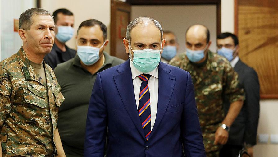 Пашинян обвинил Турцию в организации конфликта в Карабахе
