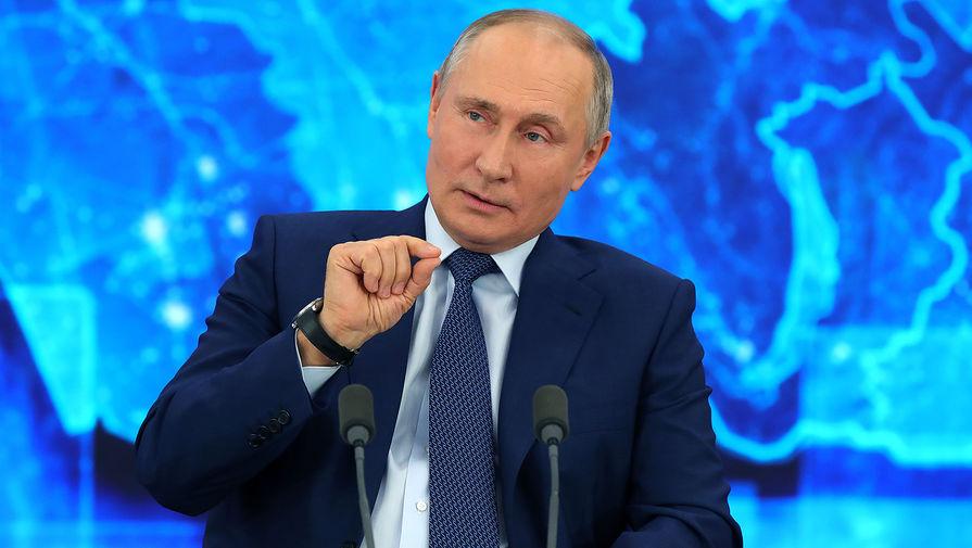 Путин: ситуацию с новыми штаммами коронавируса нельзя предугадать