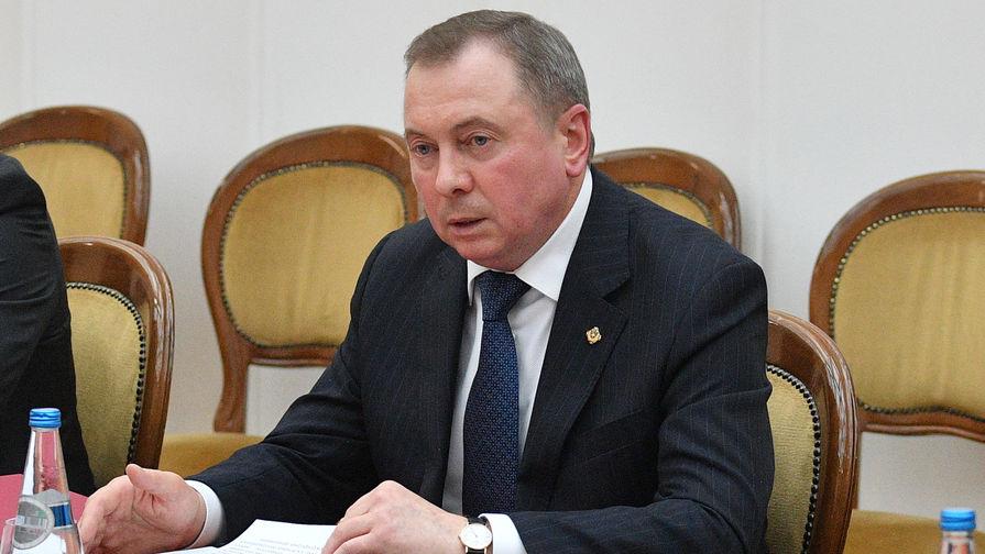 Глава МИД Белоруссии посетовал на споры с РФ из-за поставок нефти и газа