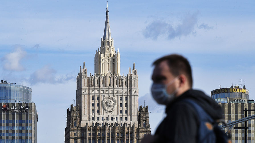 МИД РФ выразил протест украинскому поверенному из-за акций националистов