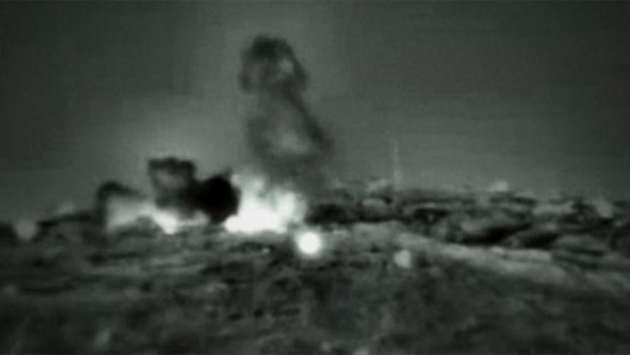 Израиль нанес ответную атаку по объектам ХАМАС в секторе Газа