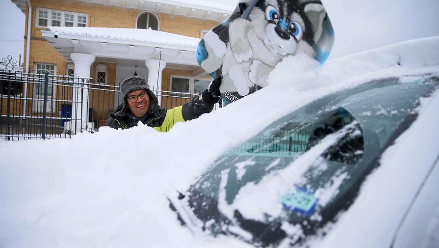 Правительство США обвинили в создании 'поддельного' снегопада в Техасе