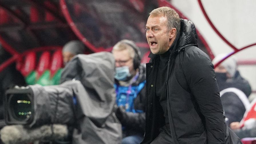Тренер 'Баварии' Флик шокирован вылетом клуба из Кубка Германии