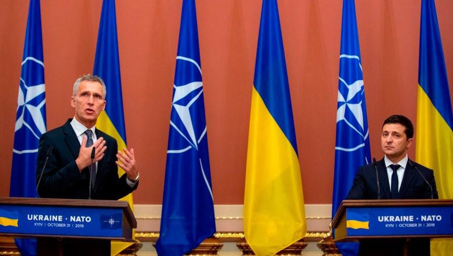 Столтенберг и Зеленский провели телефонные переговоры перед саммитом НАТО